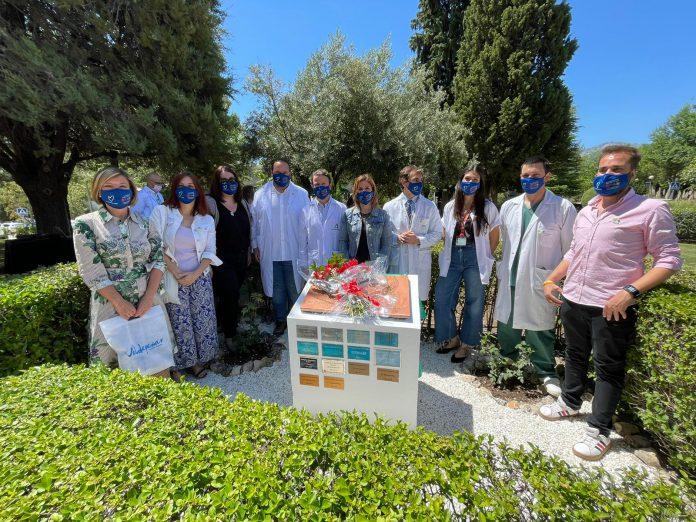 """Acto Homenaje a los Donantes de Órganos de la provincia de Jaén celebrado en el """"Jardín de la Solidaridad"""" del Hospital Universitario de Jaén"""